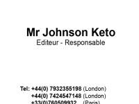 BUSINESS CARD JOHNSON KETO