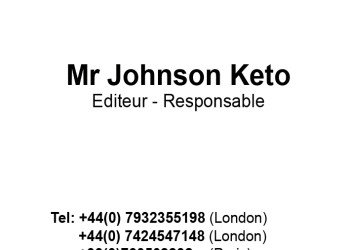 BUSINESS CARD JOHNSON KETO