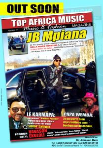 MAGAZINE  TOP AFRICA MAGAZINE MUSIC  POSTER