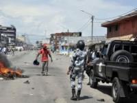 violences dans les rues d'Abidjan