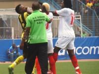 la tension a été vive lors du match V.Club contre DCMP le 23 juin 2013 à Kinshasa