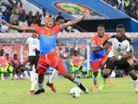 Kabananga fauché lors du match Ghana - RDC